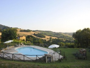 6 Bedroom Country House Casa nel Bosco with Private Pool in Le Marche, Italy