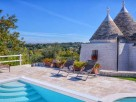 3 Bedroom Colourful Trullo with Pool near Martina Franca, Puglia, Italy