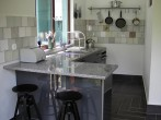 Lower guesthouse kitchen