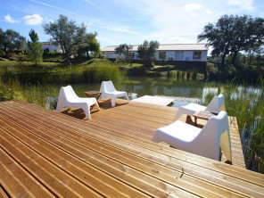 Apartment Alfarroba on a Rural Estate with Pool and Lake near Loule, Algarve, Portugal