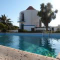 Converted windmill in Portugal's Alentejo with private pool
