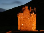 Forter Castle at night