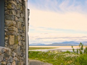 Luxury  Beach View Eco Cottages  in Scotland, Outer Hebrides, Isle of Harris