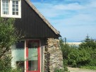 Romantic Stone Eco Cottage overlooking the Beach on the Isle of Harris, Outer Hebrides, Scotland