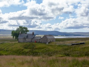 Remote 4 Bedroom Cottage on a Private Estate near Kinbrace in the Highlands, Scotland