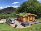 1 Bedroom Log Cabin Scotsview with Hot Tub in the Cairngorms in Glenshee, Scotland