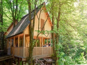 Stylish & Luxurious Treehouses on the Shores of Lake Bled, Slovenia