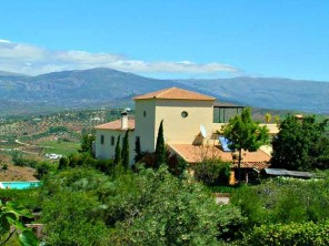 4 Bedroom Moorish Hilltop Villa with Pool and Views in Comares, Andalucia, Spain