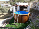 1 Bedroom Peaceful Cottage with Private Pool in Lubrin, Andalucia, Spain