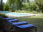 Loungers and pool