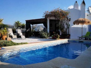2 Bedroom Mountain House Casa Monte with Views near Comares, Andalucia, Spain
