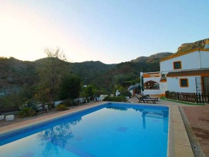 4 Bedroom Mountain House with Views and Pool near Comares, Andalucia, Spain