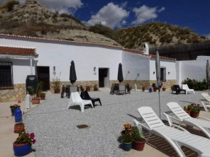 2 Bedroom Cave House Geco with Shared Pool near Castillejar, Andalucia, Spain