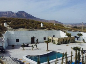 3 Bedroom Cave House with Pool and Hot Tub near Benamaurel, Andalucia, Spain