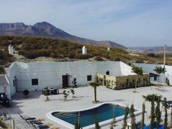 Lovely 3 Bedroom Cave House With Pool And Hot Tub Near Benamaurel, Andalucia, Spain