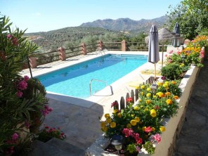 3 Bedroom Secluded Millhouse with Pool near Riogordo, Malaga Province, Andalucia, Spain