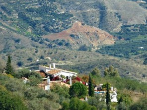 6 Bedroom Finca & Cortijo with Pool and Sea Views near Comares, Andalucia, Spain