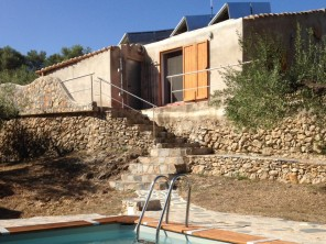 2 Bedroom Eco Cottage with Sea Views on an Organic Farm in Tarragona, Spain