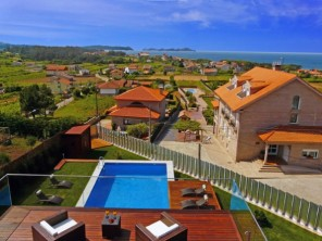 5 Bedroom Luxury Seaview Villa in Spain, Galicia, Sanxenxo