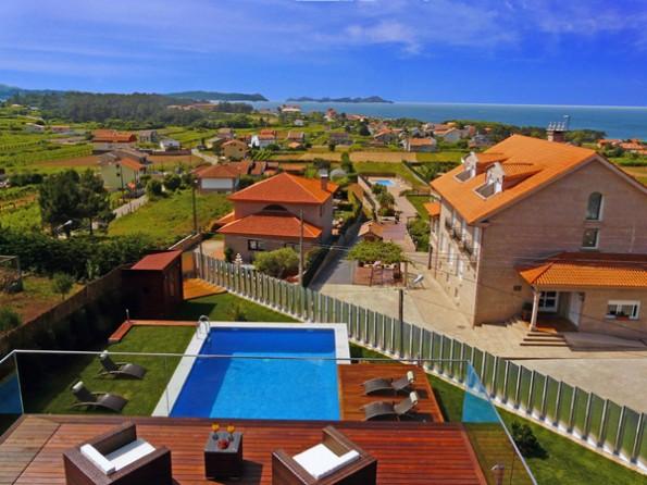 5 Bedroom Luxury Seaview Villa In Spain  Galicia  Sanxenxo