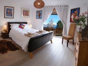 3 Bedroom Luxury Chalet Apartment 100m from Spa and Ski Lift in Nendaz, Swiss Alps, Switzerland