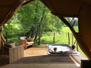 2 bedroom Safari Lodge near Descartes, Indre-et-Loire, Centre-Val de Loire, France
