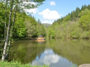 1 bedroom Cabin by the water near Conques-En-Rouergue, Aveyron, Midi-Pyrenees, France
