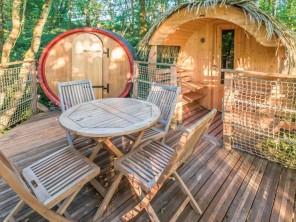 1 bedroom Barrel near Pompignac, Gironde, Nouvelle Aquitaine, France