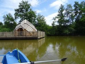1 bedroom Cabin by the water near Joncherey, Territoire de Belfort, Bourgogne-Franche-Comté, France