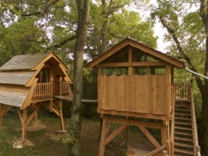 1 bedroom Treehouse near Rosoy-En-Multien, Oise, Picardy, France