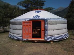 1 bedroom Yurt near Sollières-Sardières, Savoie, Rhone Alps, France