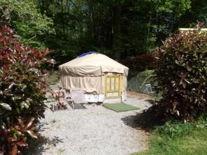 1 bedroom Yurt near Guillac, Morbihan, Brittany, France