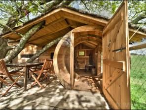 1 bedroom Treehouse near Ploemel, Morbihan, Brittany, France