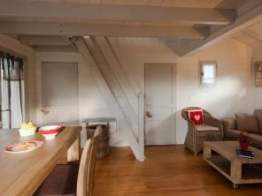 1 bedroom Cabin on Stilts near Quistinic, Morbihan, Brittany, France