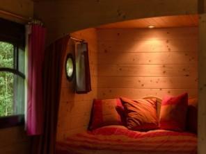 1 bedroom Gipsy Caravan near Quistinic, Morbihan, Brittany, France