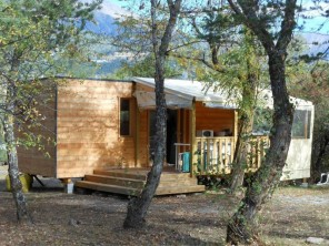 2 bedroom Ecolodge near Baratier, Hautes-Alpes, Provence-Cote d`Azur, France