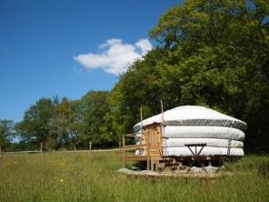 1 bedroom Yurt near Ploemel, Morbihan, Brittany, France
