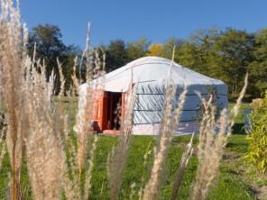 1 bedroom Yurt near Le Nizan, Gironde, Nouvelle-Aquitaine, France