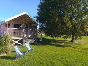 2 bedroom Safari Lodge near Le Nizan, Gironde, Nouvelle Aquitaine, France