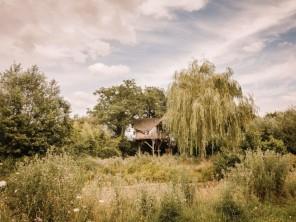 1 bedroom Cabin on Stilts near Pommerieux, Mayenne, Pays de la Loire, France