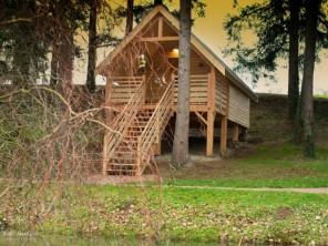 1 bedroom Cabin on Stilts near Voussac, Allier, Auvergne, France