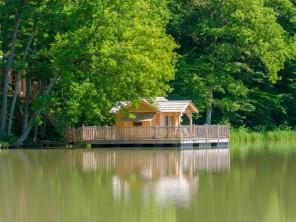 2 bedroom Cabin by the water near Joncherey, Territoire de Belfort, Burgundy-Franche-Comté, France