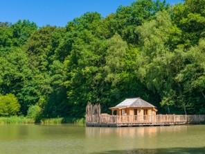 1 bedroom Cabin by the water near Joncherey, Territoire de Belfort, Burgundy-Franche-Comté, France