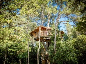 1 bedroom Treehouse near Castries, Hérault, Languedoc-Roussillon, France