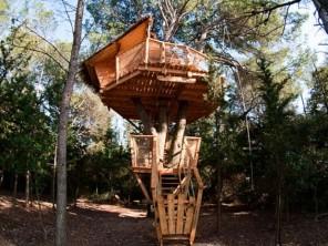 1 bedroom Treehouse near Castries, Hérault, Occitanie, France