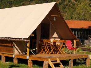2 bedroom Tent near Chamalières-Sur-Loire, Haute-Loire, Auvergne-Rhône-Alpes, France