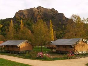 2 bedroom Safari Lodge near Chamalières-Sur-Loire, Haute-Loire, Auvergne, France