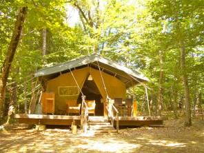 1 bedroom Tent near Le Poët Célard, Drôme, Rhone Alps, France