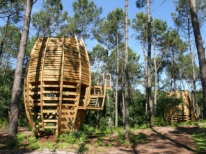 1 bedroom Cabin on Stilts near Captieux, Gironde, Nouvelle Aquitaine, France
