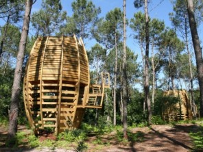 1 bedroom Cabin on Stilts near Captieux, Gironde, Nouvelle-Aquitaine, France